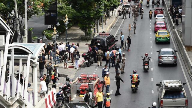 Bom Bangkok, Pemberontak Selatan Dicurigai (93904)