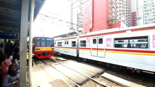 KRL di Stasiun UI mogok karena mati listrik