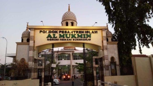 Suasana Yayasan Pondok Pesantren (Ponpes) Al Mukmin Ngruki, Desa Cemani, Kecamatan Grogol, Kabupaten Sukoharjo Jawa Tengah