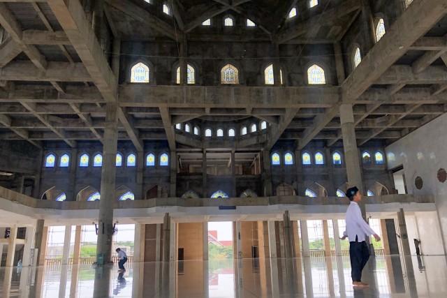 Foto: Masjid Agung Islamic Center, Ikon Kota Lhokseumawe (59419)