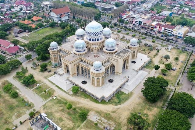 Foto: Masjid Agung Islamic Center, Ikon Kota Lhokseumawe (59421)