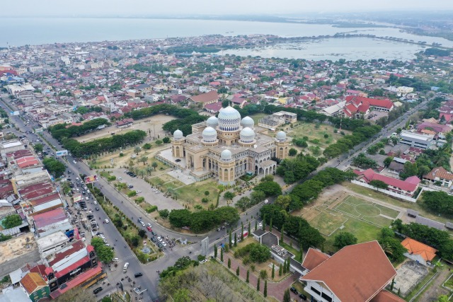 Foto: Masjid Agung Islamic Center, Ikon Kota Lhokseumawe (59422)