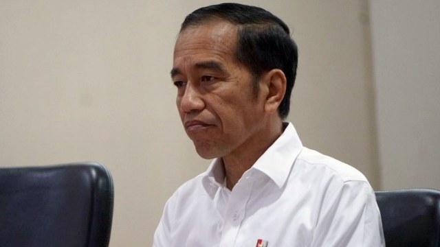 Presiden Joko Widodo berkunjung ke kantor pusat PLN