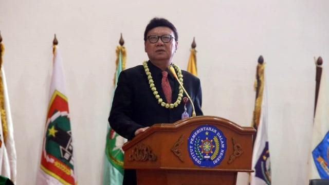 Mendagri Tjahjo Kumolo di acara wisuda Praja IPDN