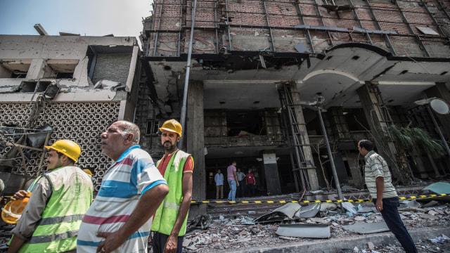 Mesir Duga Kelompok Terkait Ikhwanul Muslimin Dalang Bom di RS Kanker  (140536)