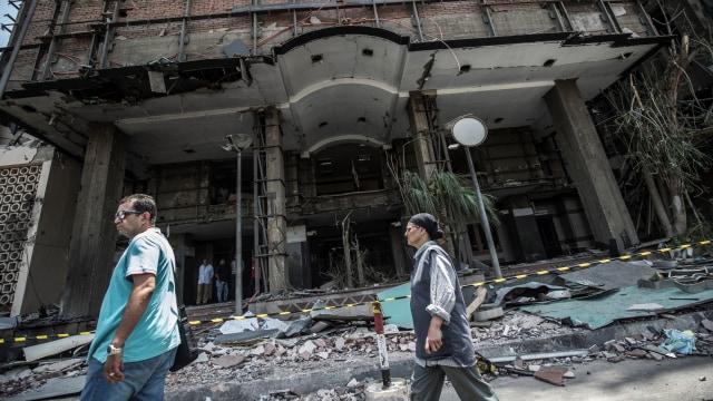 Mesir Duga Kelompok Terkait Ikhwanul Muslimin Dalang Bom di RS Kanker  (140534)