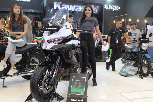 Kawasaki Indonesia Galau Boyong Versys 1000 S, Penantang Honda Africa Twin (6230)