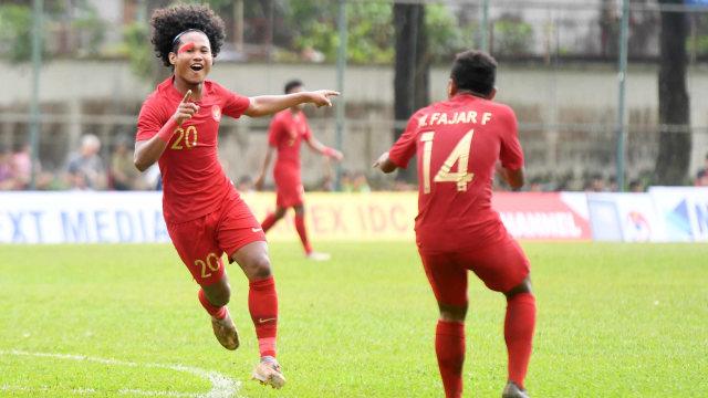 Pesepakbola Timnas Indonesia U-18, Indonesia vs Filipina, Grup A Piala AFF U-18 (NOT COVER)