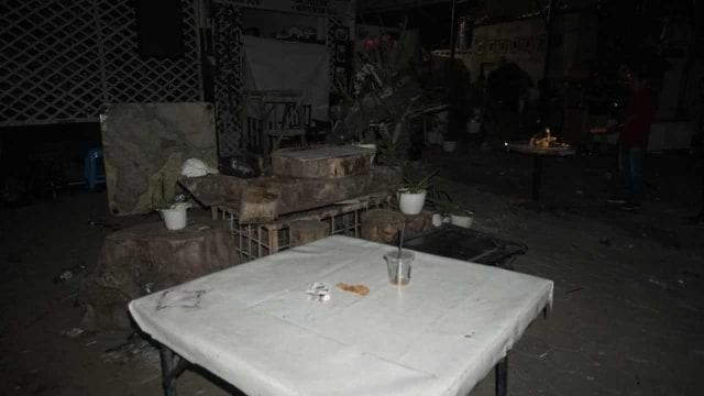 Foto: Kondisi Pascarusuh di Komandan Cafe, Tebet  (852275)