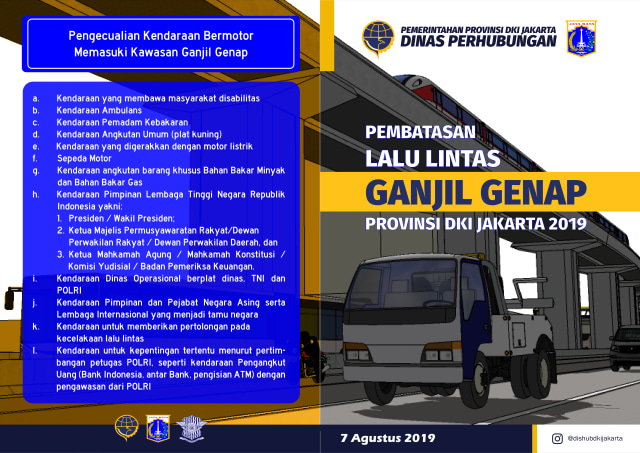 Ganjil Genap Motor Hoaks
