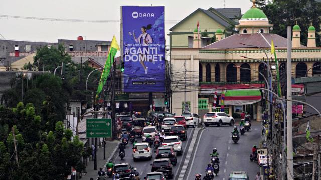 LIPSUS Perang Dompet Digital, Ilustrasi banner iklan dompet digital Dana