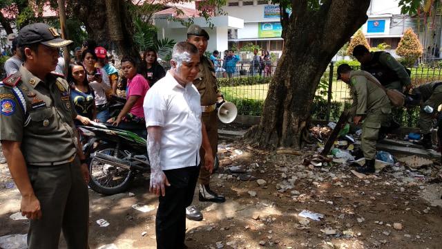Kasatpol PP di Medan Disiram Air Panas saat Tertibkan Lapak Pedagang (538123)
