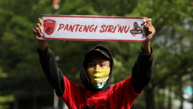 Foto: Ribuan Suporter Hadiri Pawai Kemenangan PSM Makassar (22324)