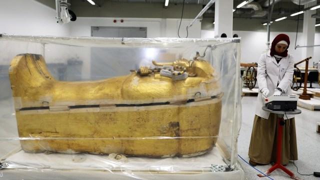 Peti mati Tutankhamun.