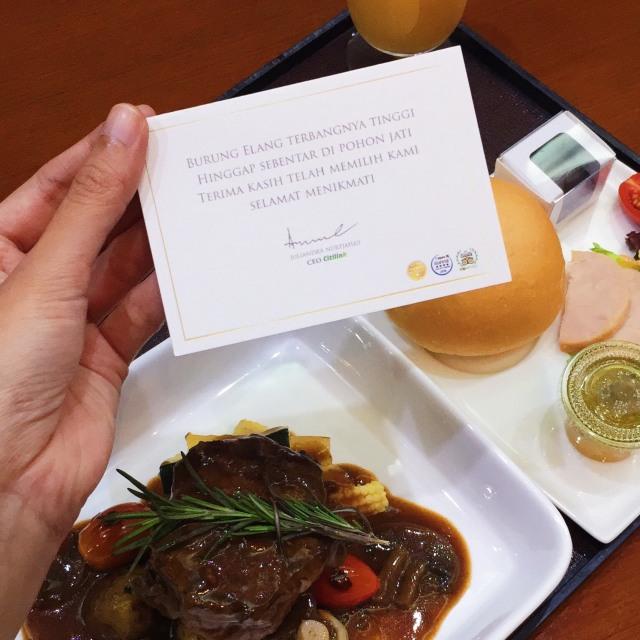 Dining Experience, Layanan Citilink yang Bisa Kreasikan Menu Sendiri (437906)