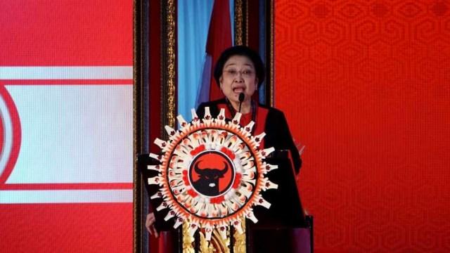Kongres V PDIP, Bali, Ketua Umum PDIP Megawati