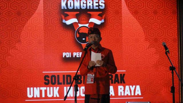 Kongres V PDIP, Bali, I Wayan Koster