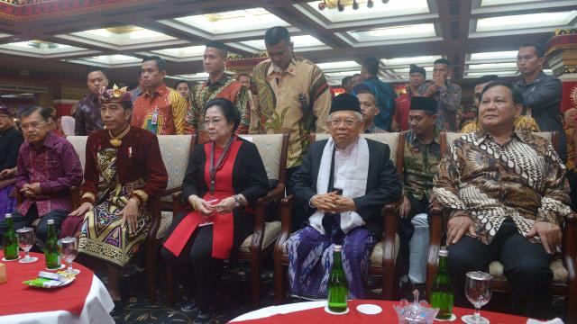 Momen Kemesraan Politik Megawati - Prabowo  (56673)