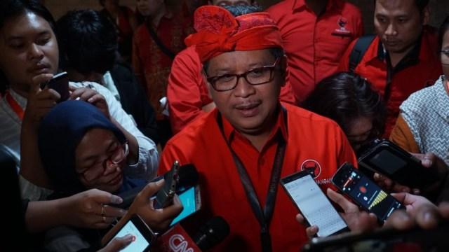 Kongres V PDIP, Politisi Senior PDIP Hasto Kristiyanto