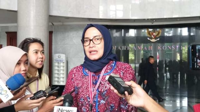 Komisioner KPU Evi Novida Ginting Manik
