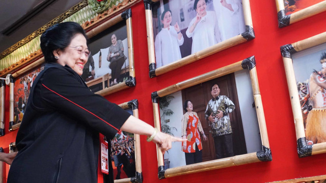 Momen Kemesraan Politik Megawati - Prabowo  (56675)