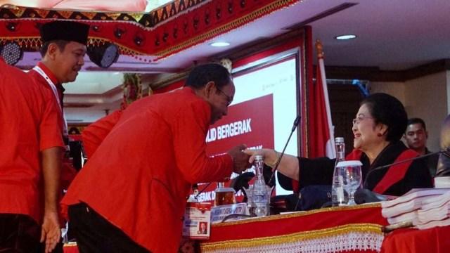 Foto: Kongres V PDIP di Bali Berakhir (183113)