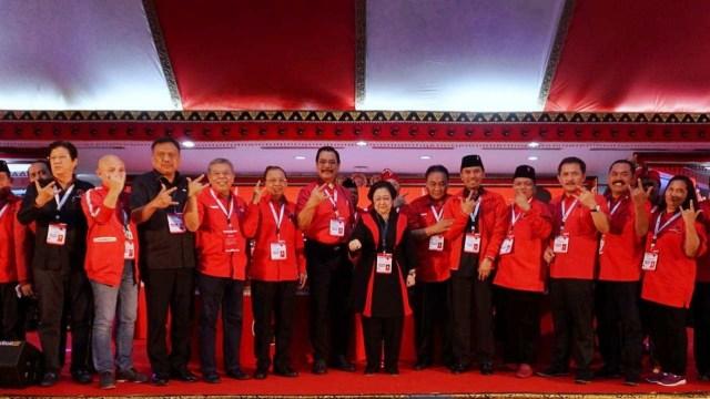 Foto: Kongres V PDIP di Bali Berakhir (183121)