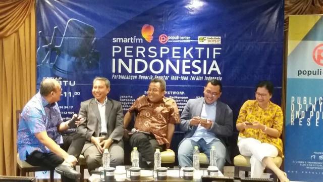 Diskusi 'Membaca Arah Tusukan Pidato Mega'