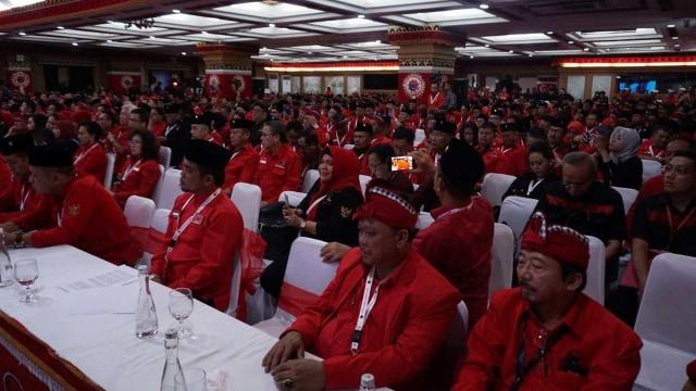 Foto: Kongres V PDIP di Bali Berakhir (183118)