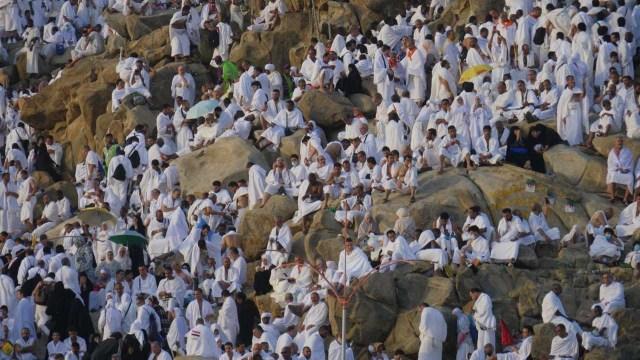 Haji 2019, Wukuf di Arafah