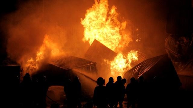 Hotel Fasilitas Corona di India Terbakar, 7 Pasien COVID-19 Tewas (99825)