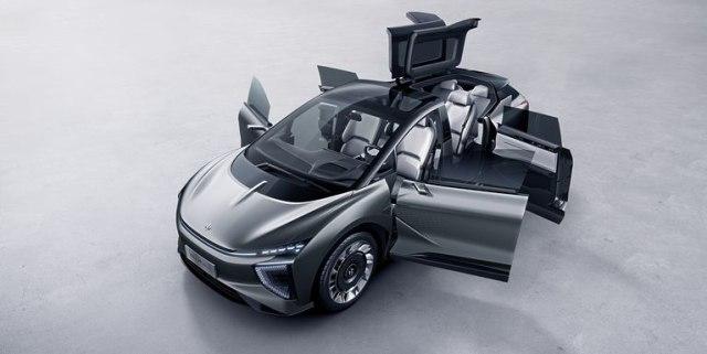 Ini Calon Pesaing Tesla Model X dari China (38979)