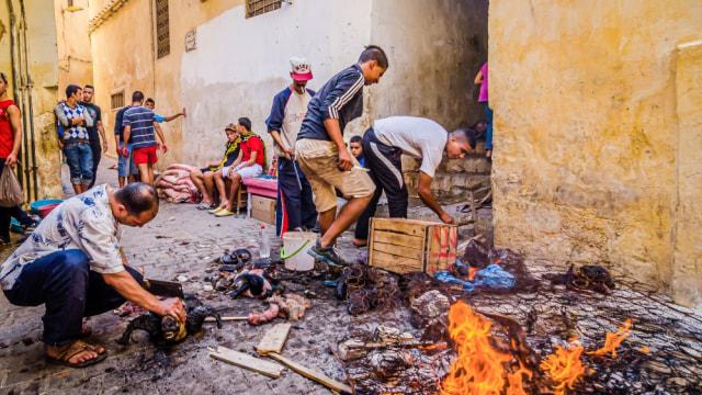 Dari China hingga Maroko, Begini Uniknya Tradisi Idul Adha Di Berbagai Negara (140106)