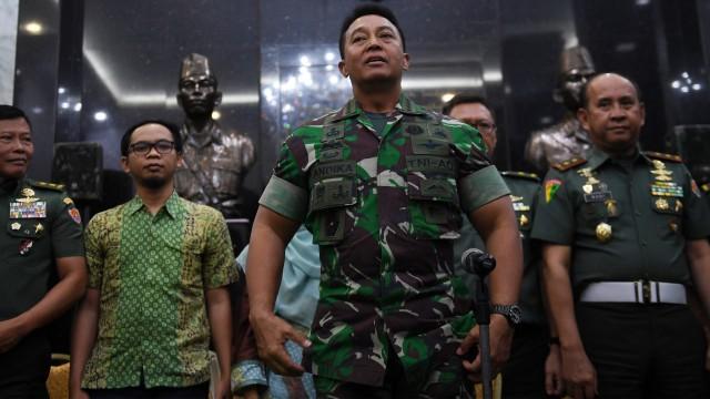 KSAD soal Anggota TNI Jual Amunisi ke KKSB: Mungkin Tergoda Materi (716179)