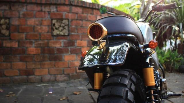 Inspirasi Modifikasi Yamaha Scorpio Jadi Tracker Gambot (29087)