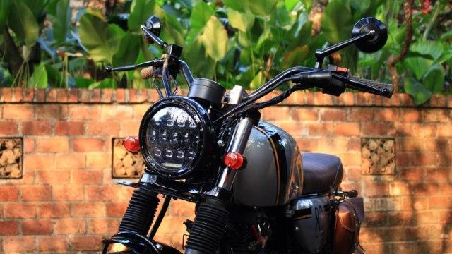 Inspirasi Modifikasi Yamaha Scorpio Jadi Tracker Gambot (29085)