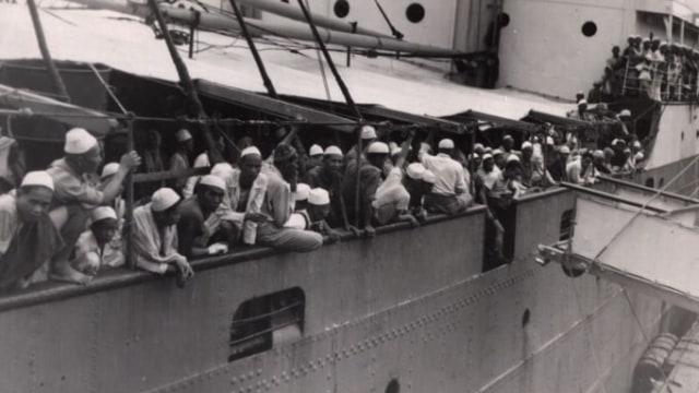 Lipsus, Menggapai Makkah di Zaman Perang, Rombongan Haji tiba di Mekkah