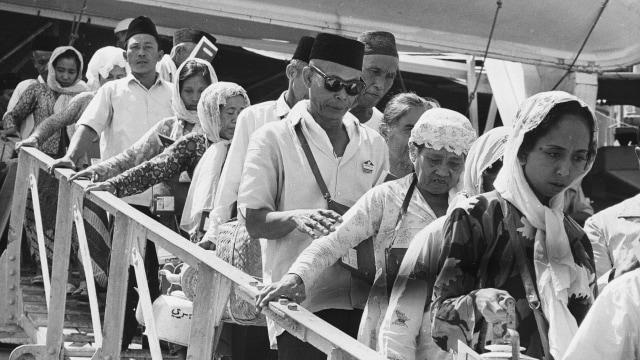 Lipsus, Menggapai Makkah di Zaman Perang, Jemaah haji tiba di Mekkah 19 Agustus 1968