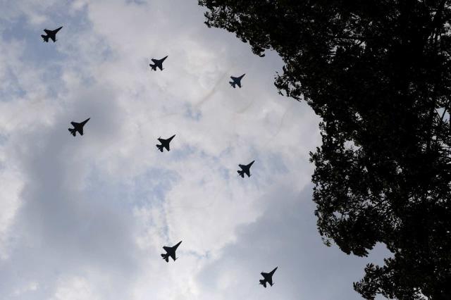Latihan Upacara Jelang HUT ke-74 Kemerdekaan RI, Istana Presiden (NOT COVER)
