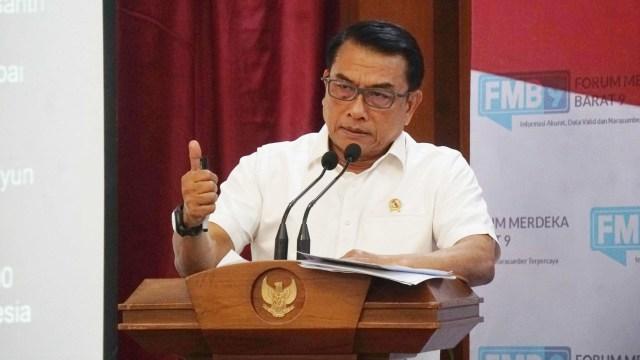 Kepala Staf Kepresidenan Moeldoko, Diskusi Forum Merdeka Barat 9