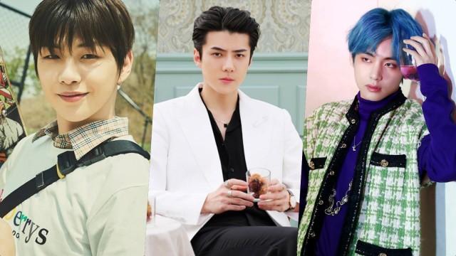 11 Idola K-Pop yang Masuk Nominasi 100 Pria Tampan 2019 di Medsos (600721)