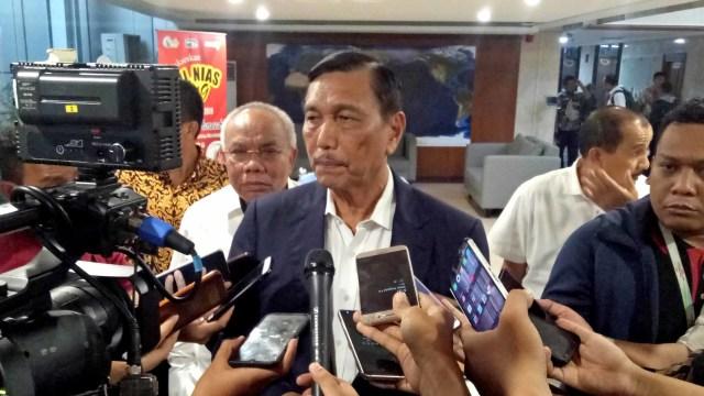 Menteri Koordinator Kemaritiman, Luhut B Pandjaitan