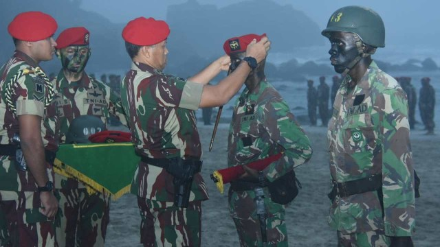 150 Prajurit Muda Resmi Jadi Anggota Kopassus (60549)