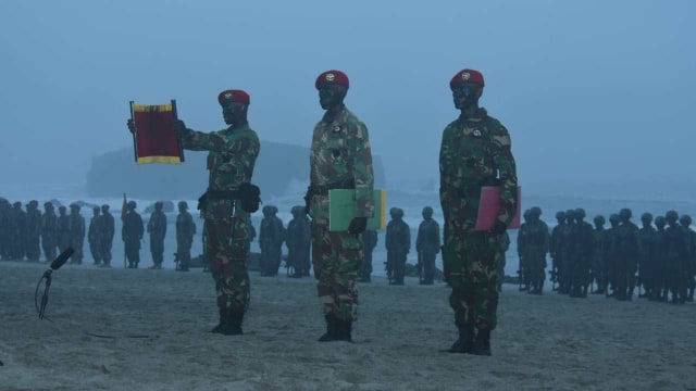 150 Prajurit Muda Resmi Jadi Anggota Kopassus (60552)
