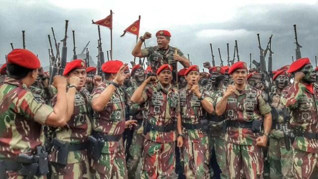 150 Prajurit Muda Resmi Jadi Anggota Kopassus (60551)