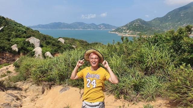 Liburan Baim Wong di Pulau Kosong, China
