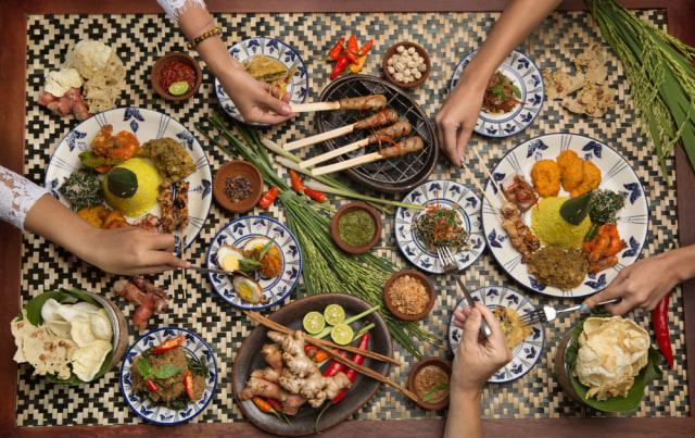com-Tik Tok, ilustrasi kuliner khas Indonesia