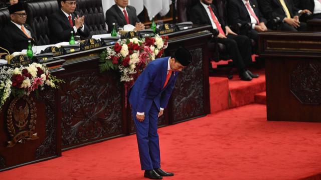 SIDANG TAHUNAN MPR DAN PIDATO KENEGARAAN, Jokowi