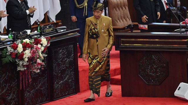 Presiden Joko Widodo, Sidang Tahunan DPD-DPR