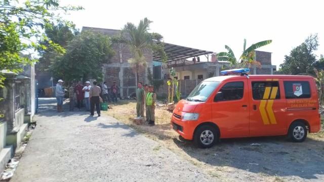 Rumah terduga teroris di Solo yang digeledah Densus 88